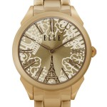 HOMAGE - IP ROSE GOLD EIFFEL TOWER WATCH