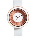 SOLAR - WHITE ENAMEL SOLAR WATCH