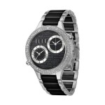 JETLAG - Black Ceramic Dual Time Watch