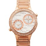 JETLAG - DUAL TIME IP ROSE GOLD WATCH