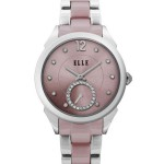 MIX LINKS I - SWAROVSKI SMALL SECONDS PINK WATCH