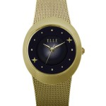 STELLAR I - SMALL BEZEL IP GOLD WATCH